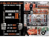 """Nominate an Inmate"" 24 Hour Charity Lock-In Fundraiser at Shepton Mallet Prison"
