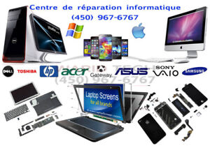 Centre de réparation Apple & Windows, Cellulaire, Tablet & TV