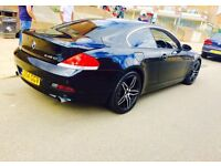 Bmw 6 series 4.5 m sport very reliable beautiful condition £5995 swaps
