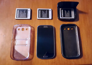 Samsung Galaxy S3, Phone Case, Extra Batteries
