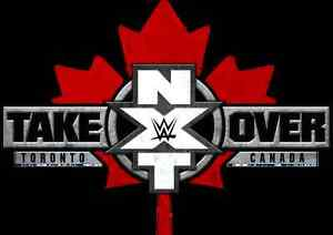 Nxt take over tickets toronto