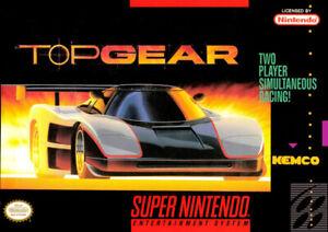 Looking For Top Gear SNES