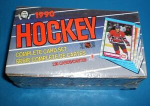 1989-90  complete card set of 330 cards factory sealed