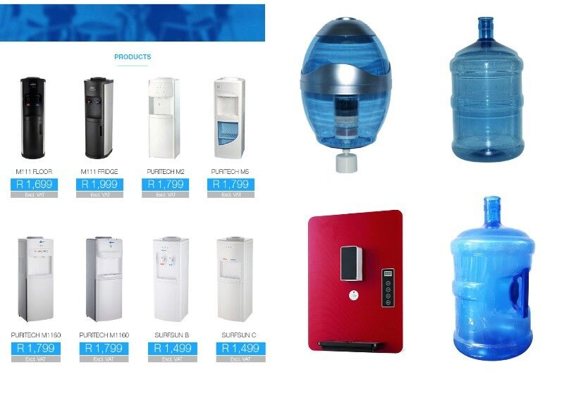 Water Dispensers Floor Standing/ Counter Top - Hot & Cold & Cold & Ambient