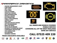 NEED A FAULT DIAGNOSED ON YOUR CAR? CODING , REPAIRS , ABS , TRACTION , CRUISE CONTROL , AIRBAG