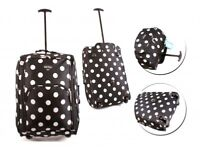 POLKA DOT CABIN TRAVEL BAG