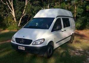 Mercedes Vito High Roof Camper Van Byron Bay Byron Area Preview