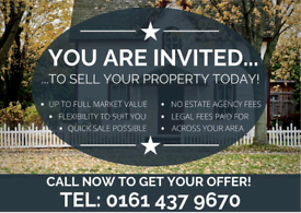 SELL YOUR PROPERTY TODAY!