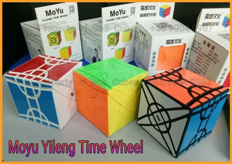 - Moyu Fisher Yileng Time Wheel Cube for sale -  Brand New Cube