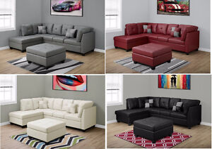 Sectionals fabric or leather on sale ! from 599$ to 1999$