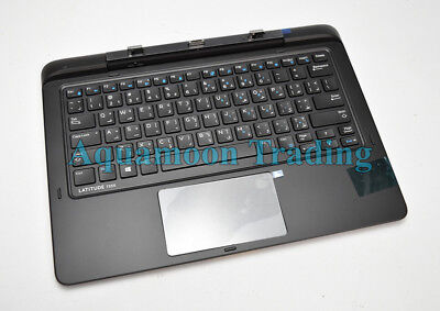 Arabic Dell Latitude 13 7350 Tablet Docking Keyboard Backlit Keys K14A GC44H  for sale  Shipping to India