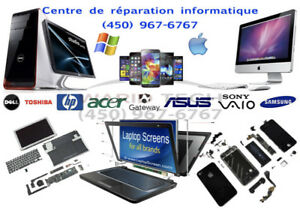 Centre de réparation Apple & Windows, Cellulaire, Tablet TV