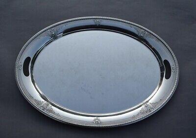 "1922 Huge & Stunning 22"" ALVIN Della Robbia Sterling Silver Platter - 2481 Grams"