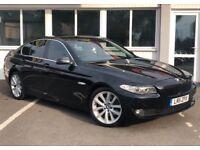 BMW 5 SERIES 520d SE (black) 2011