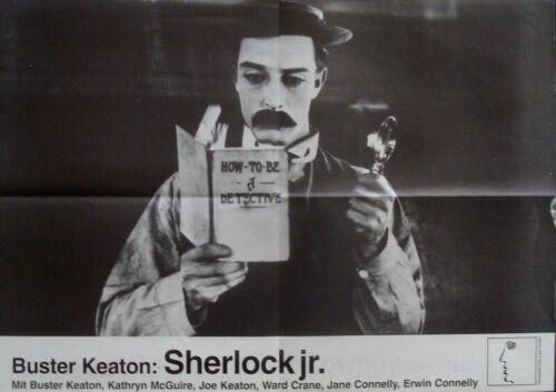 SHERLOCK JR. German A2 movie poster R74 BUSTER KEATON NM