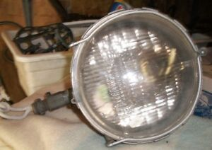 Vintage 500 Watt Stonco Adjustable Industrial Flood Light Steamp