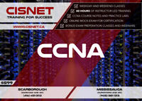CCNA (200-125) Course Starting in August September 2018 @ CISNET