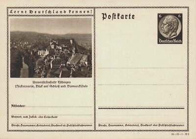 D.Reich Ganzsache P 236 TÜBINGEN ungebraucht  (42830)