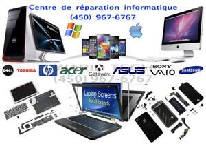 Centre de réparation Apple & Windows, Cellulaire, Tablet TV