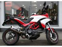 2014 Ducati Multistrada 1200S WITH AFTERMARKET EXHAUST at Teasdale Motorcycles