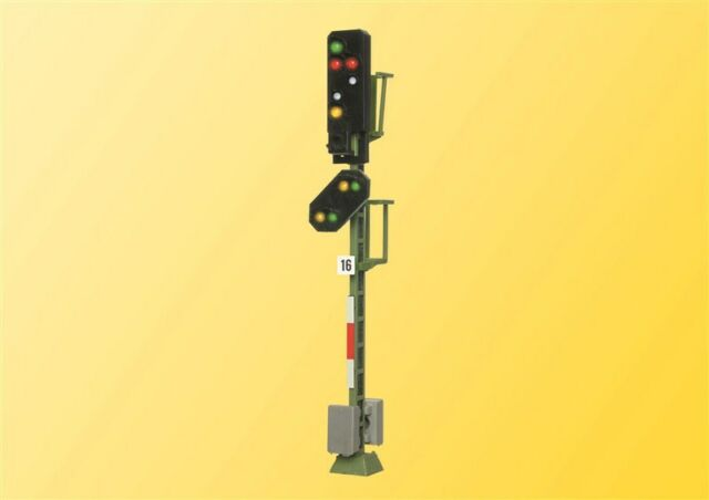 Viessmann 4016 HO Licht-Ausfahrsignal mit Vorsignal #NEU in OVP#