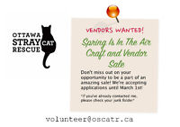 VENDORS WANTED! Spring is in the Air Craft and Vendor Sale.
