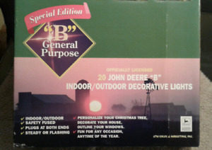 John Deere indoor/outdoor decorative lights