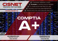Comptia A+ starting on August 25TH, 2018/ @ CISNET Scarborough!!