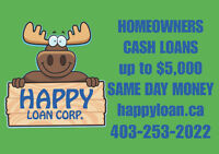 Emergency cash loans for HOMEOWNERS. No Qualifying.