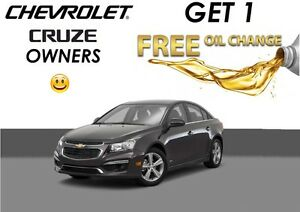 Free Lube Oil and Filter* Elantra, Focus, Cruze & More!!