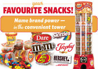 50 dollars cash et une Canadian Snack tower offerts