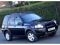 2005 Land Rover Freelander 2.0 TD4 Automatic gearbox SE 5 Doors, Black