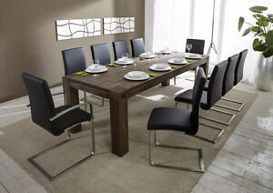 A MUST SEE SOLID WOOD DINNING ROOM TABLE