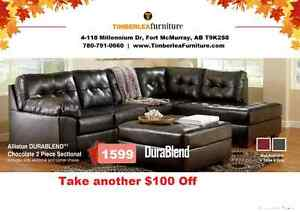 Savings on Right now @ Timberlea Furniture (Ashley Dealer)