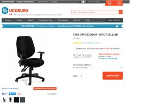 Office / Computer chair for sale-Ergonomic features