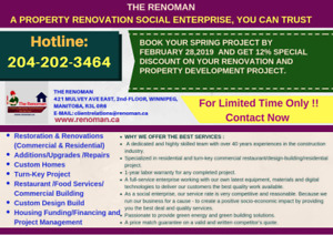Special Spring Discount 2019 is On. Book Your Project Now