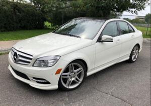 2011 Mercedes C350 4 Matic AMG Navigation 59$/week 1 yr Warranty
