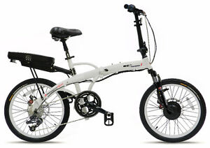 The Traveller's Electric Bicycle - High-End Folding - Free Shipp