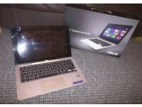 """Asus T200 hybrid laptop tablet 2 in 1 11.6"""" 32gb ssd 500gb hd 12 mth warranty as new boxed rrp £399"""
