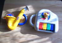 COMBI Childrens Toys, Horn & Piano