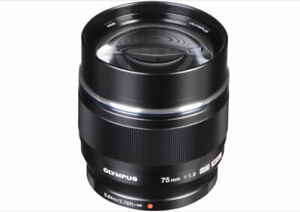 Two new Olympus micro 4/3 lens for sale