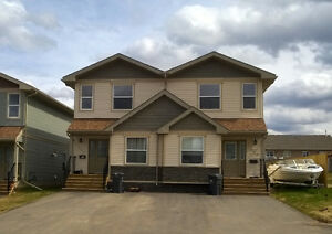 New 3 Bedroom Duplex for Rent- 89A st. Fort St John