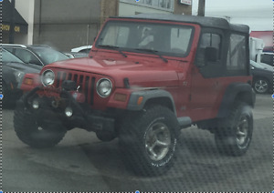 1997 Jeep TJ - Great Project Vehicle!!