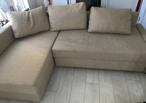 Beige Sectional - Pick up only located downtown Toronto