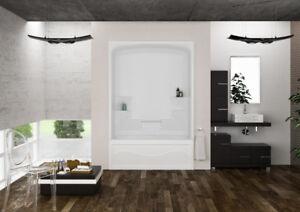 Mirolin TS5L Liberty Tub Shower White