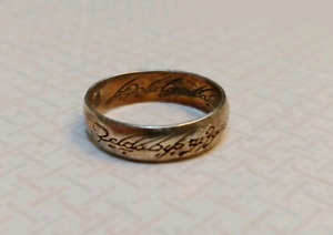 Gold Plated Lord of the rings collectors ring