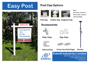 Sign Post Kit for Real Estate