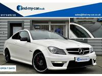 2011 61 Mercedes-Benz C63 AMG 6.3 7G-Tronic AMG Edition 125 Coupe FDSH