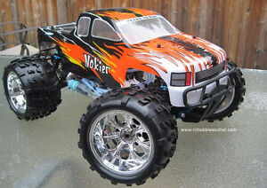 New RC Truck Nitro Gas Engine 1/8 Scale 4WD 2.4G