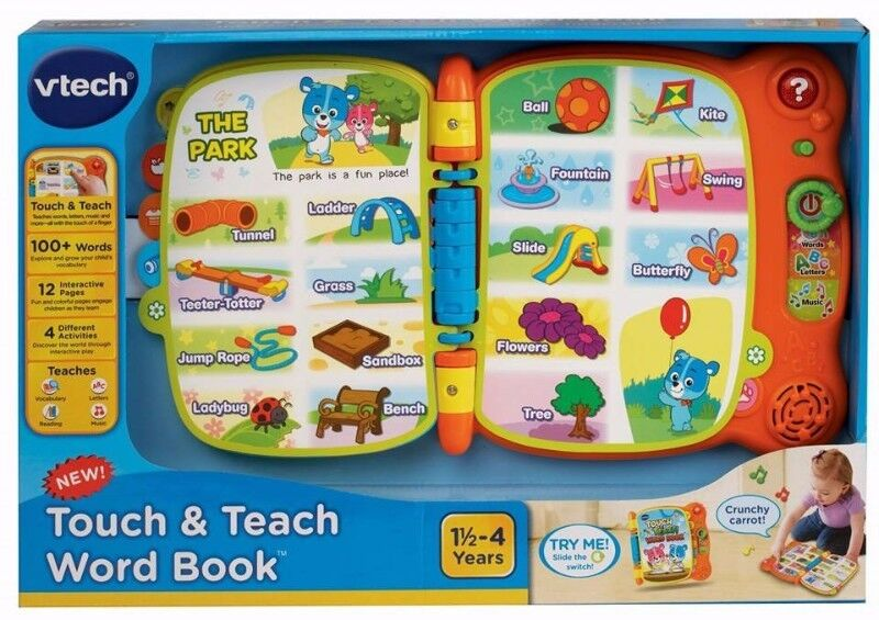 BNIB: VTech Touch and Teach Word Book